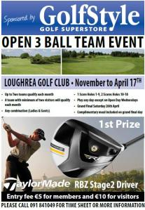 Open 3 Ball Team Event Small